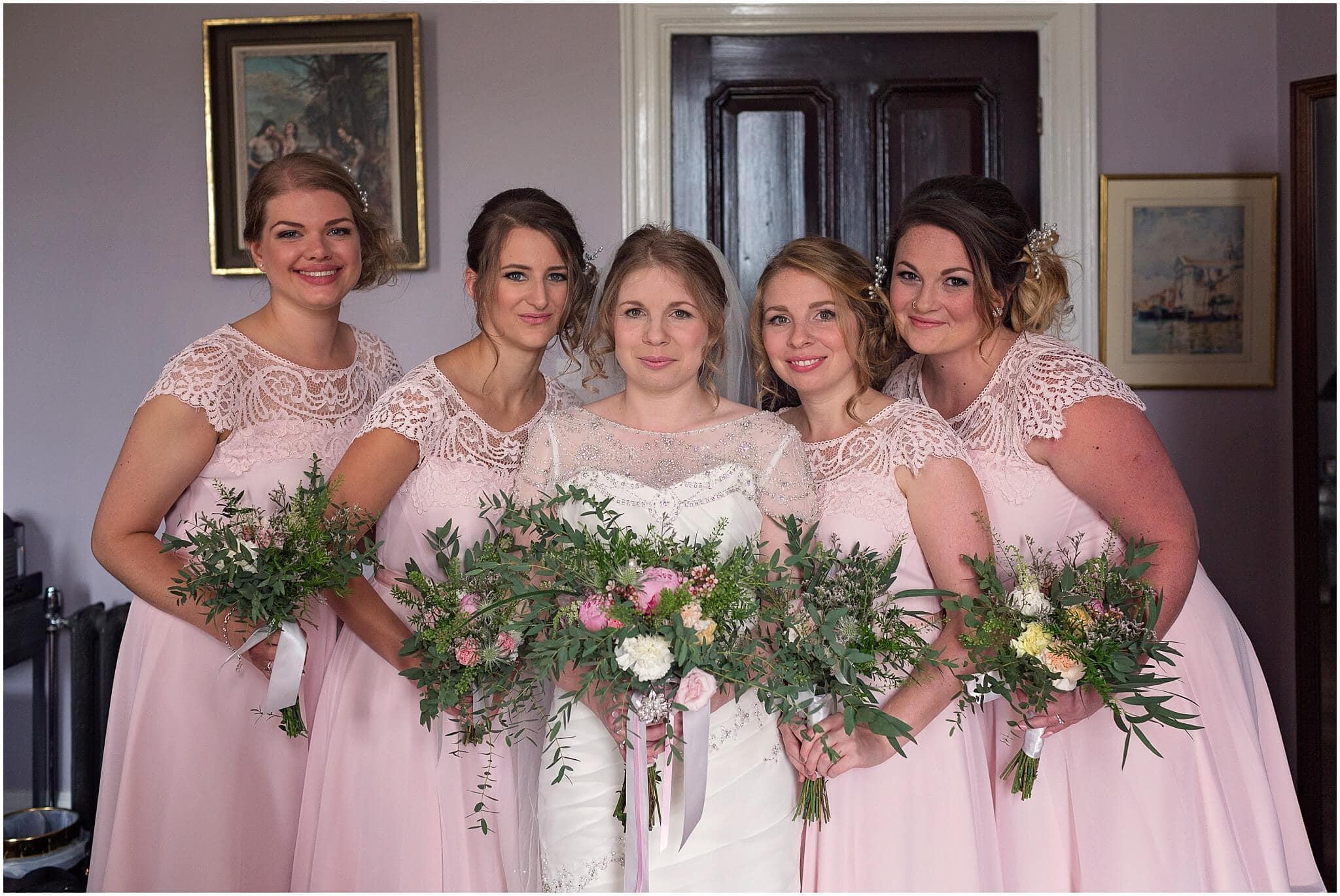 Fleur de lace wedding bouquets
