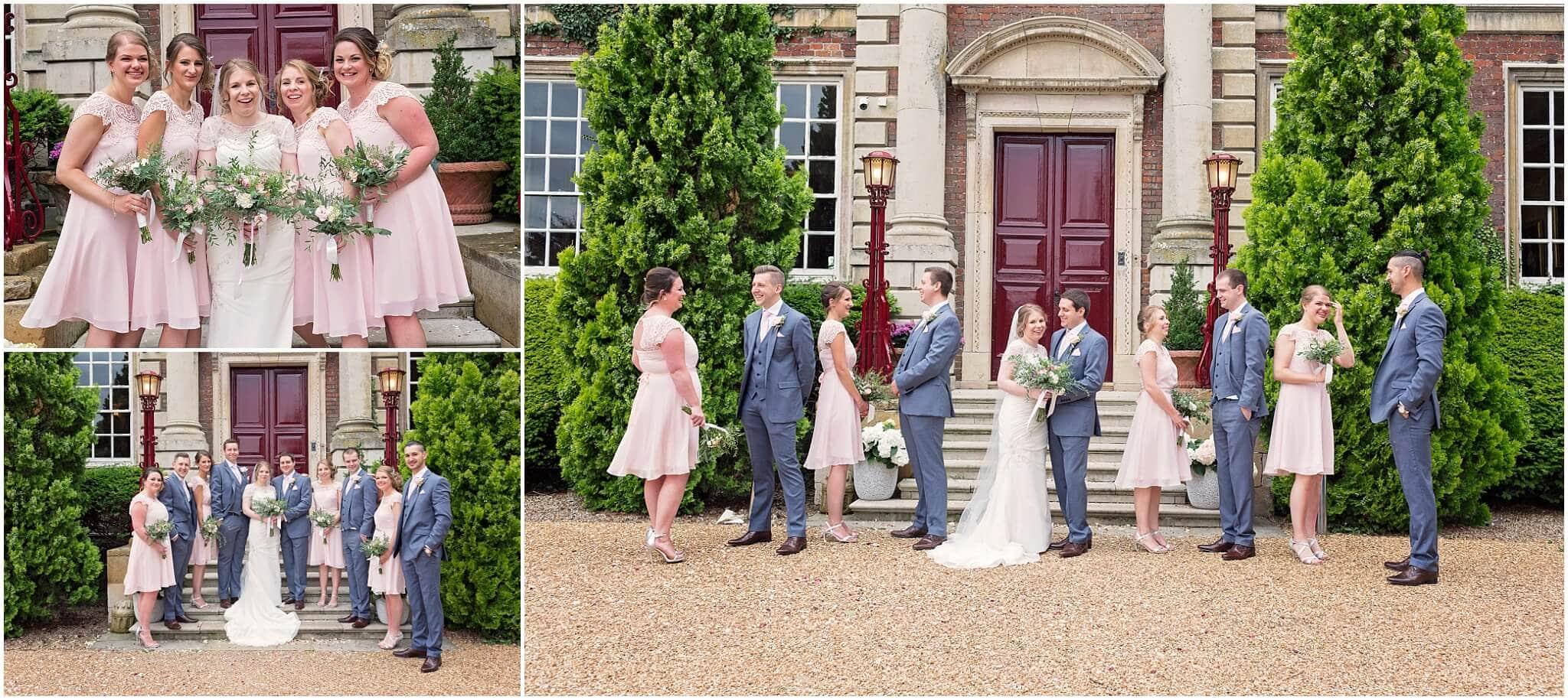 Cambridge Wedding Photographer at Anstey Hall