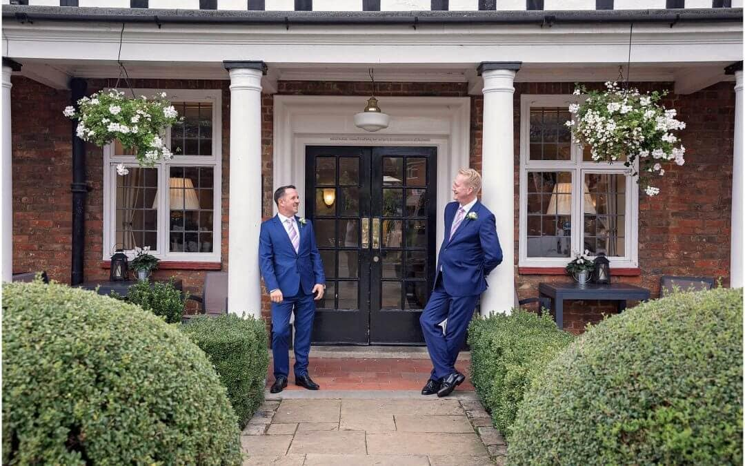 Huntingdon Wedding Photographer | The George Buckden | Clifford & Raymond