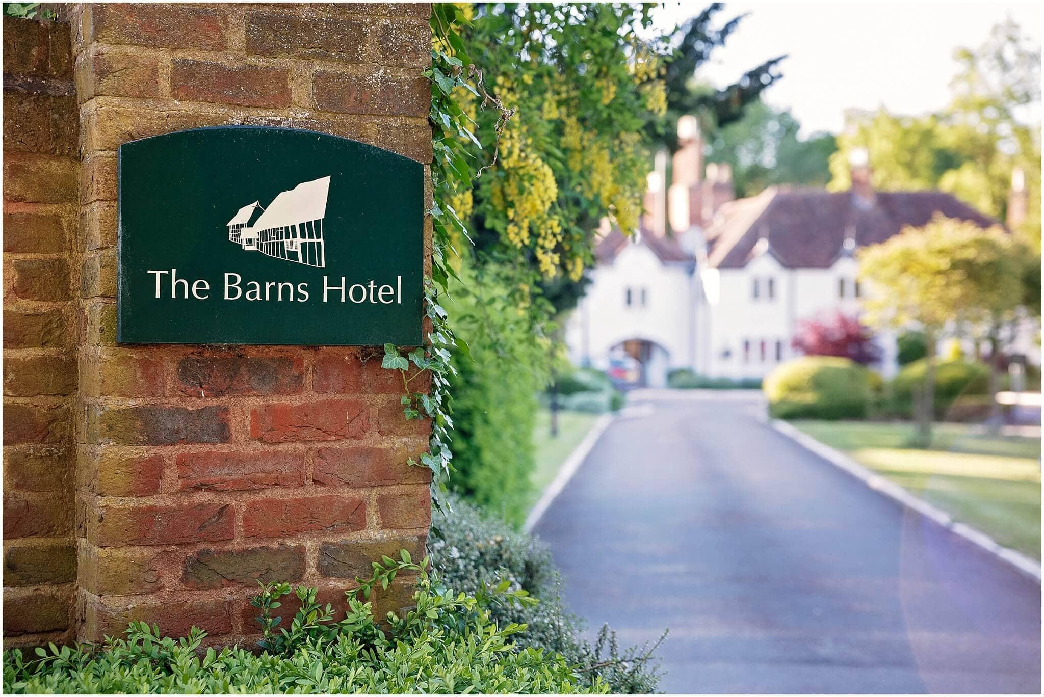 Barns Hotel Bedford Wedding