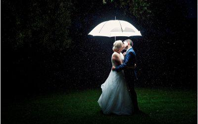 Rain didn't spoil this wonderful Italian Family Wedding