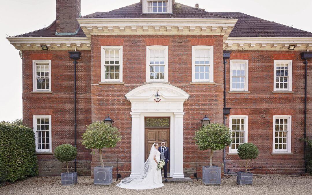 Burloes Hall wedding reception