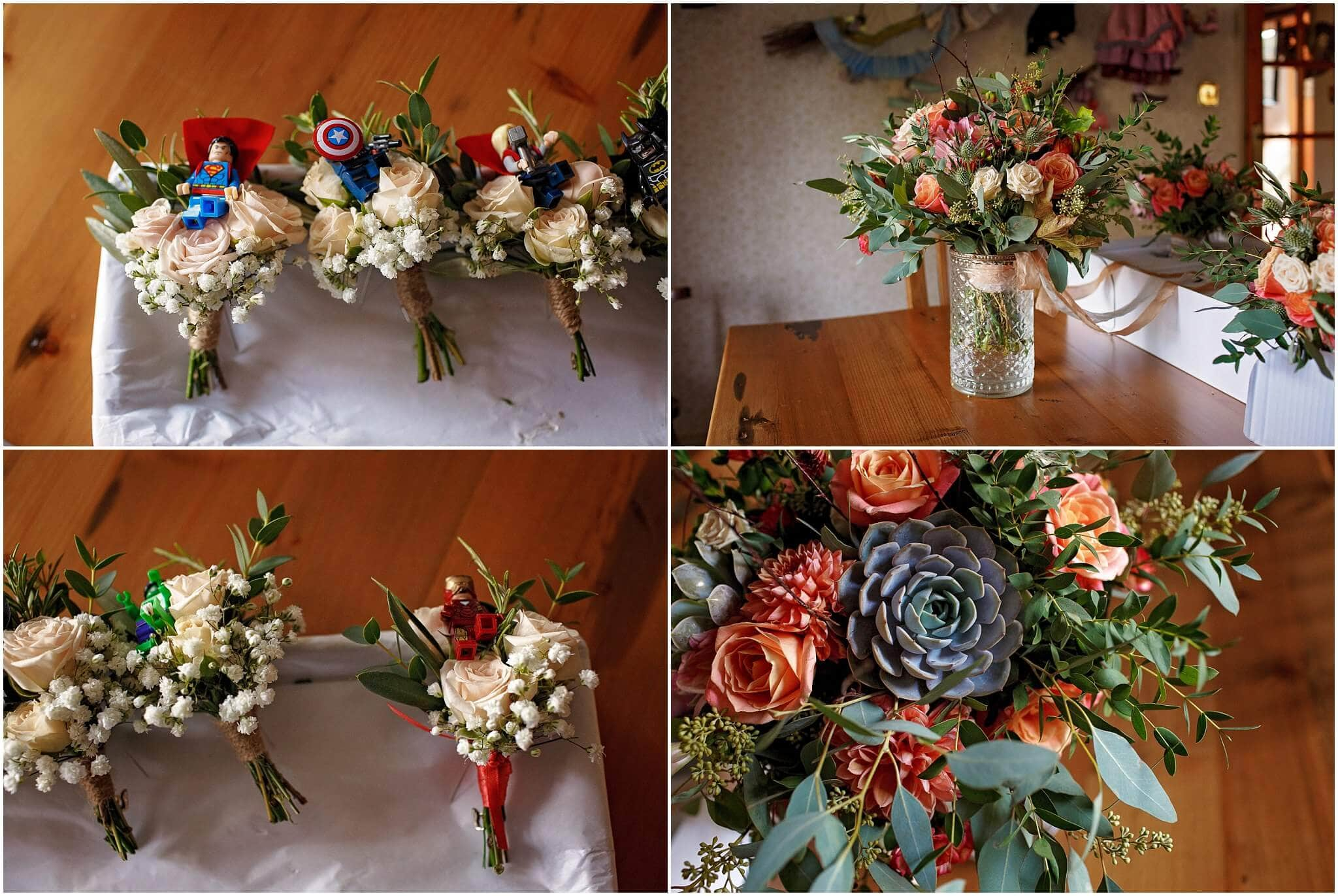 Wedding flowers by Suzanne Randall