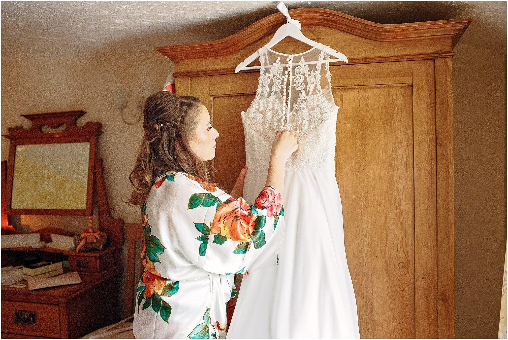 Lilian West Bridal gown