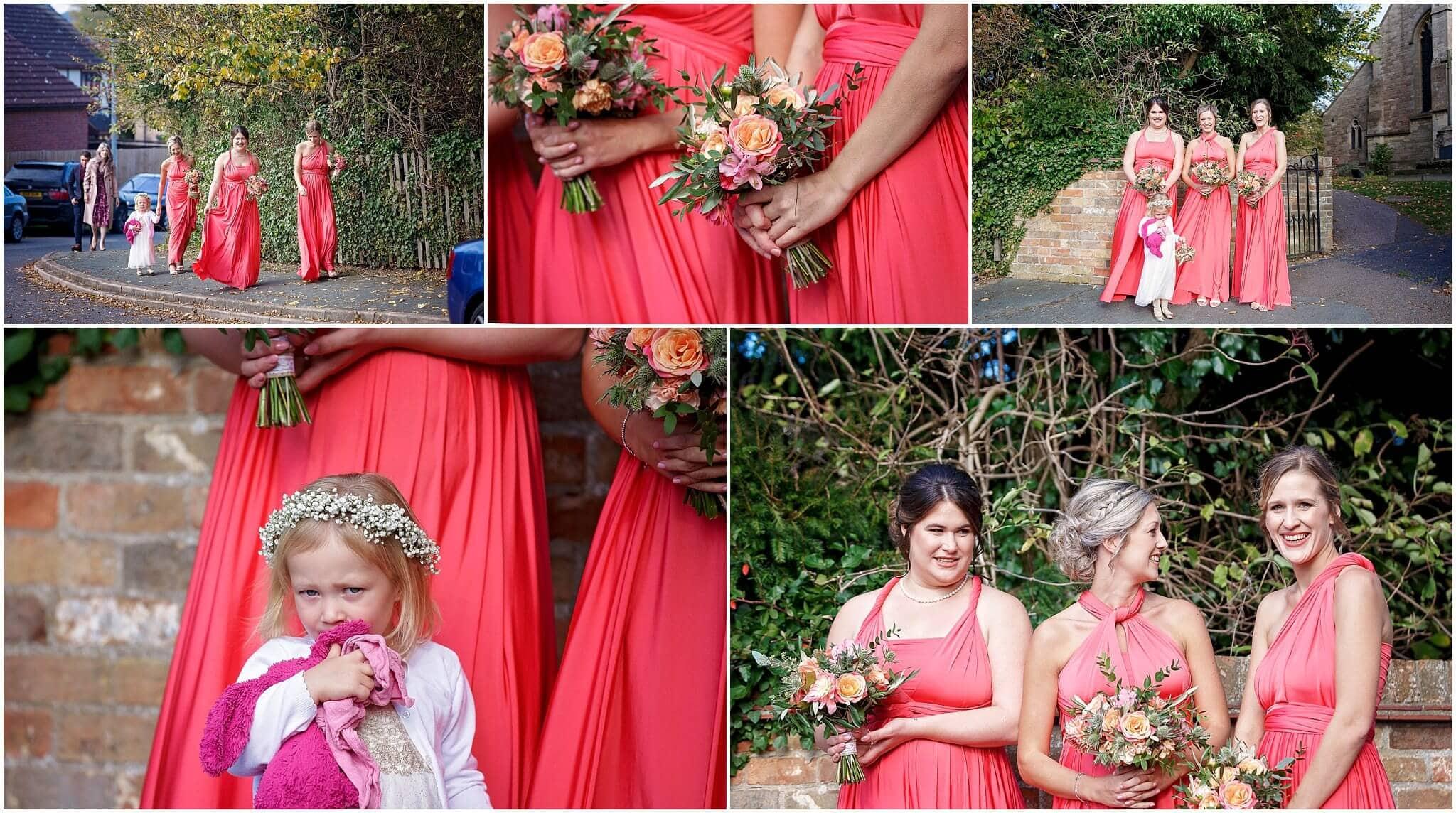 Vow Bridal bridesmaids dresses