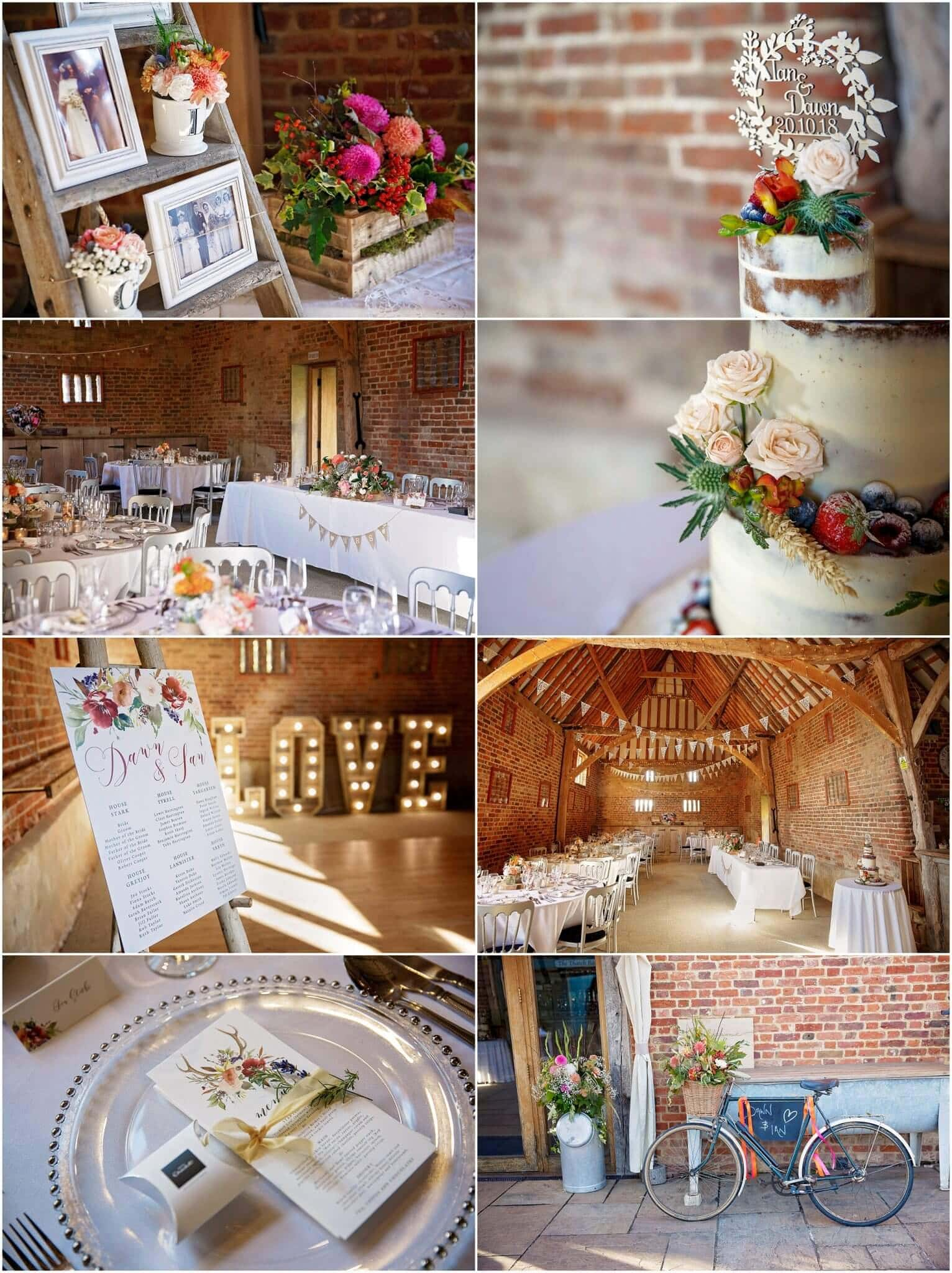 Wedding at The Thatched Barn Yelling