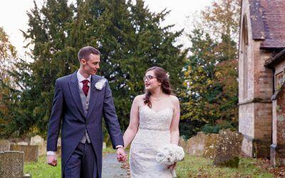 Wet Winter Wedding – Kayleigh & Andrew