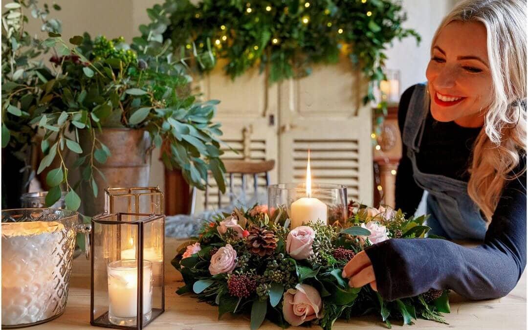 Flower arrangements and wedding bouquets
