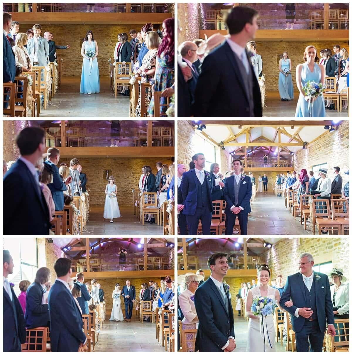 Dodford Manor wedding ceremony