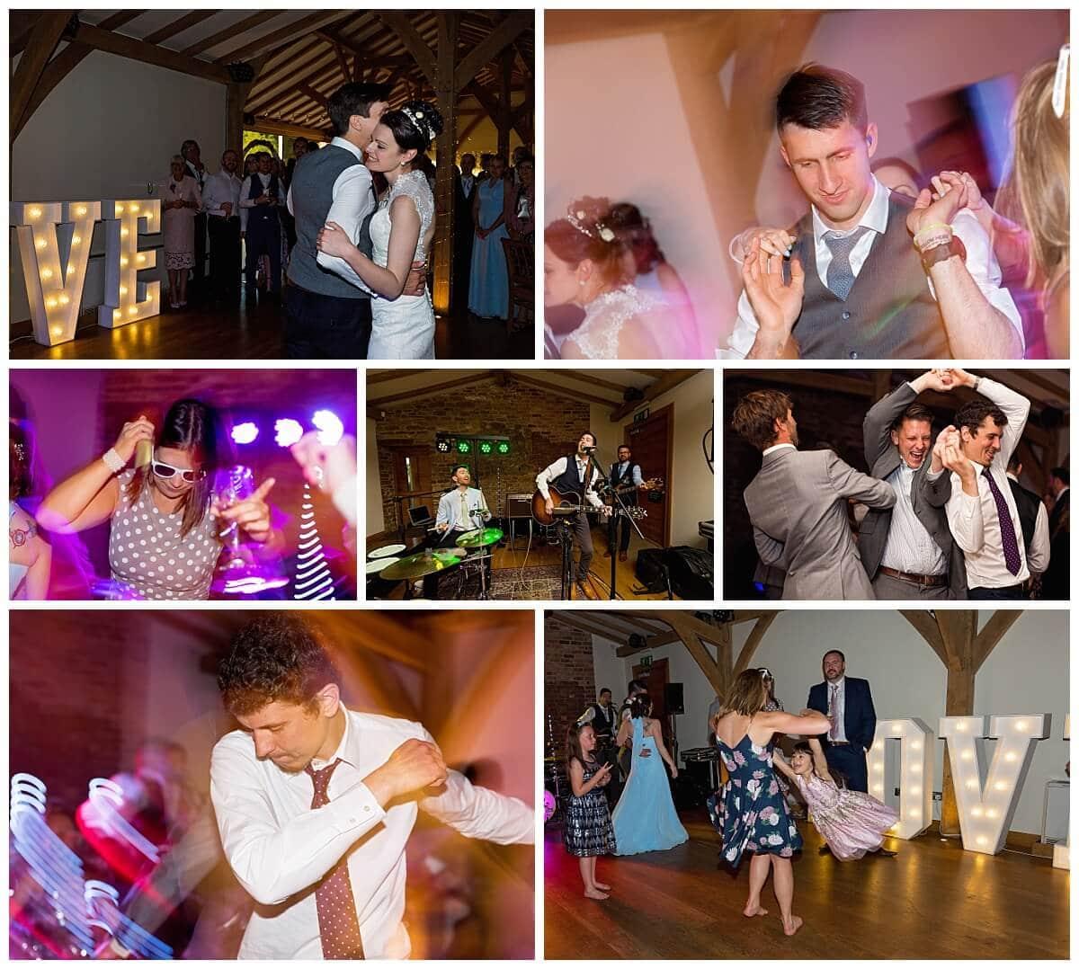 Wedding Band and dancing