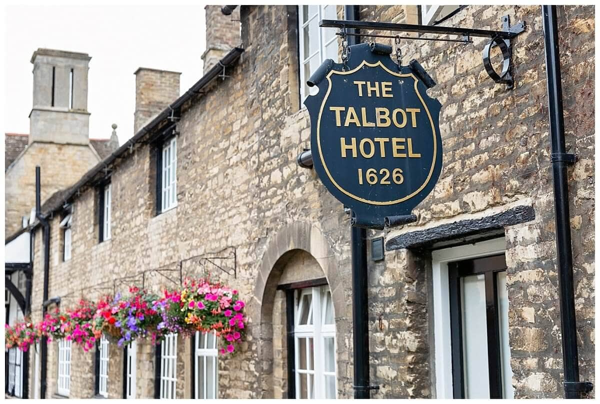 Wedding at The Talbot Hotel Oundle