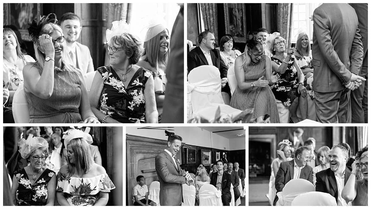 wedding ceremony at The Talbot Hotel Oundle