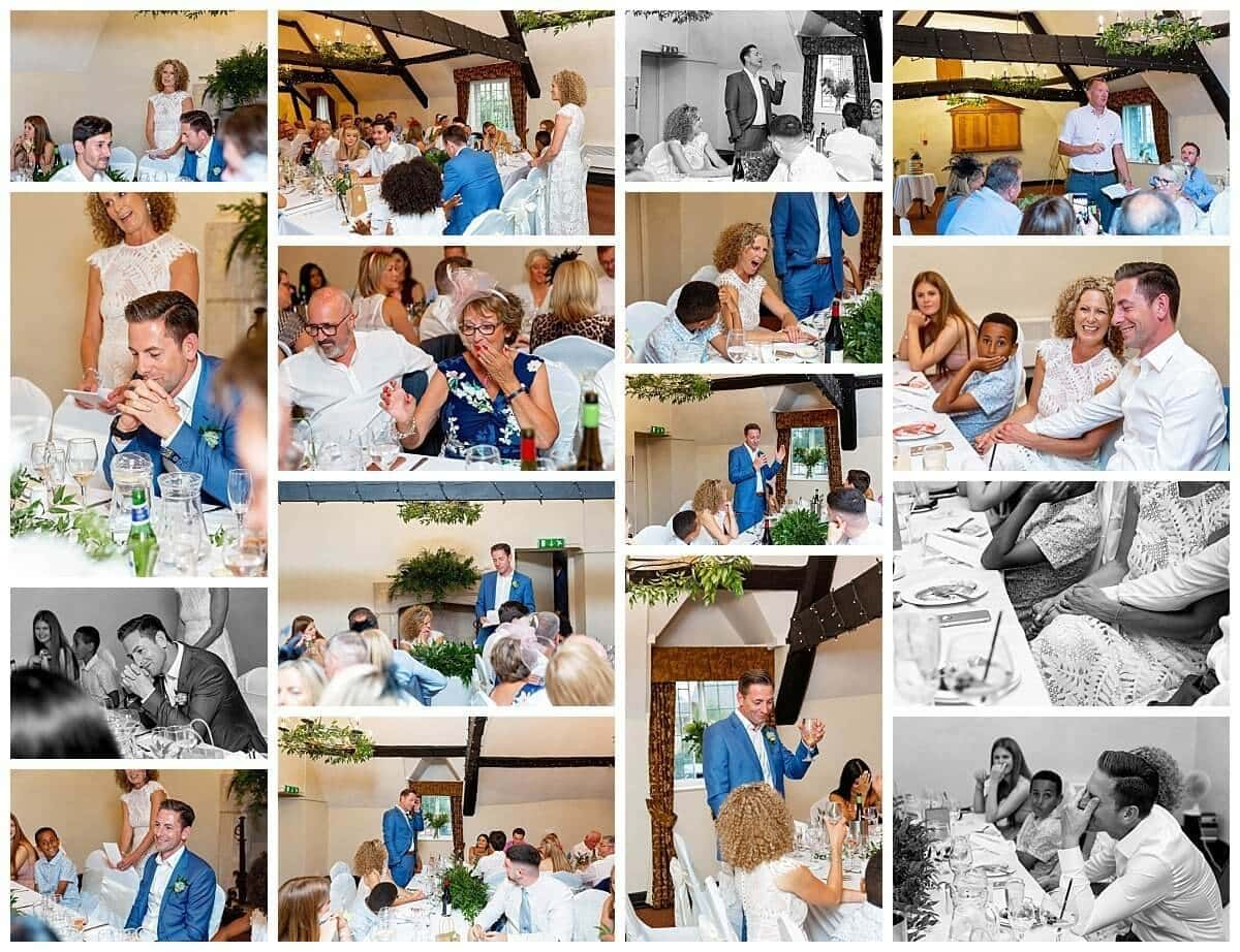 Wedding Speeches at The Talbot Hotel Oundle