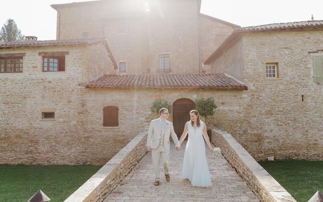 French Chateau Wedding | Katrina & Darren