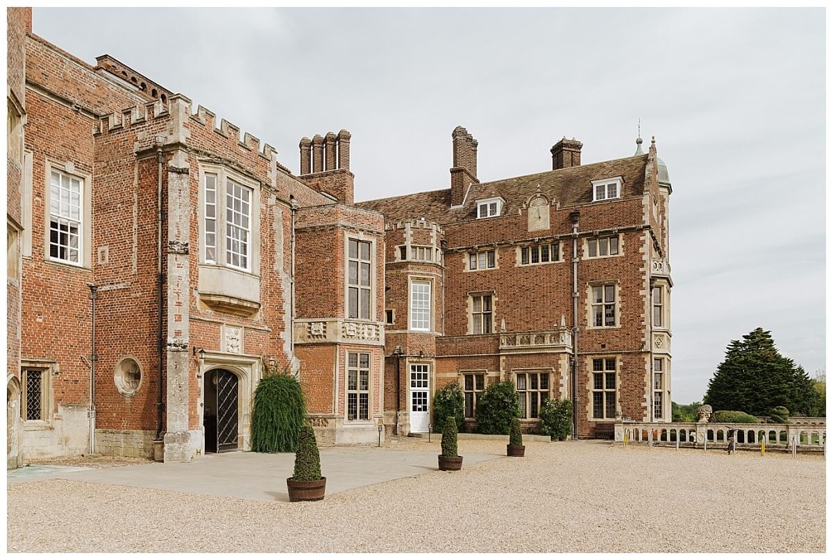 Madingley Hall wedding