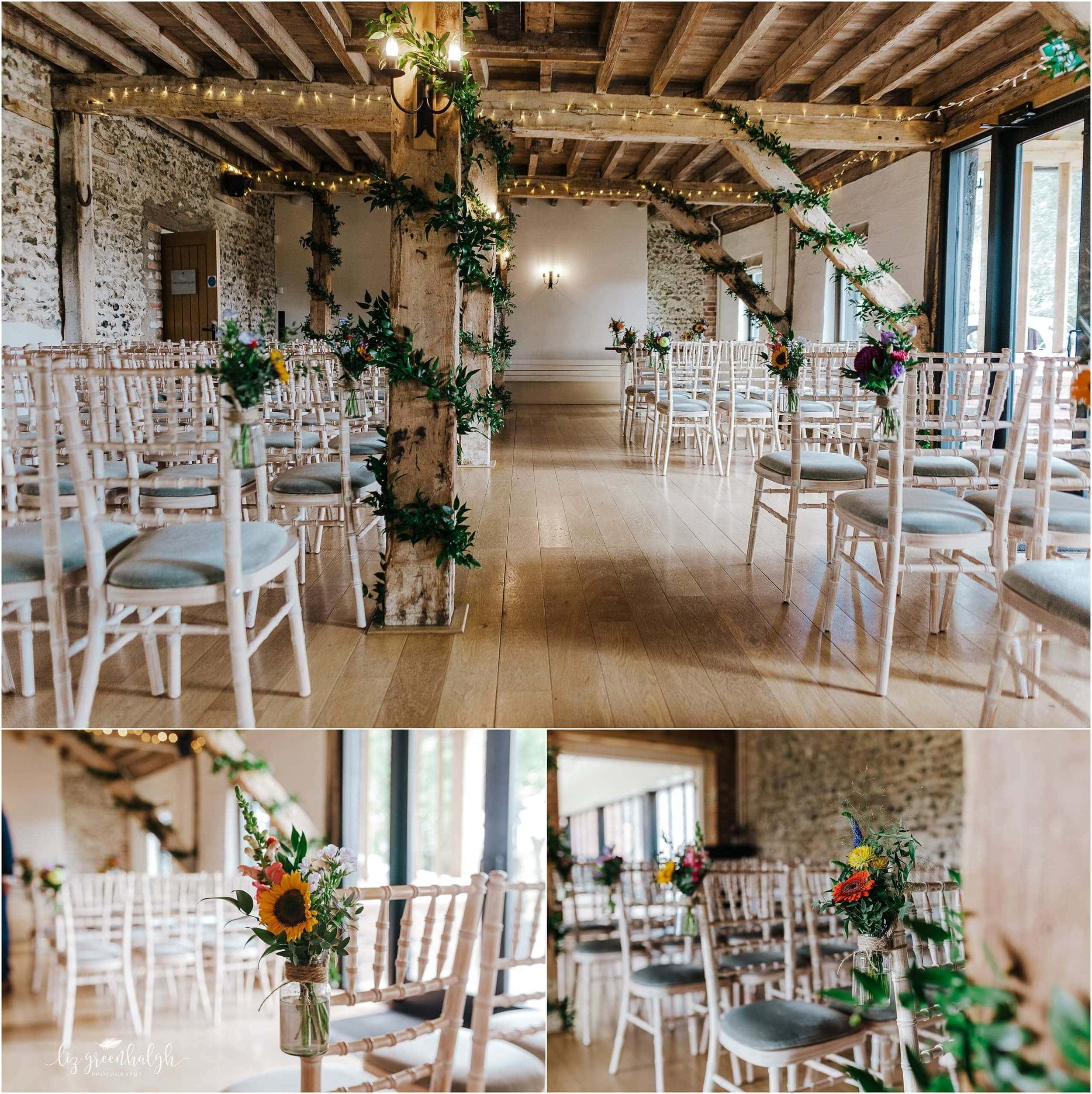 Flint Barn wedding at Granary Estates