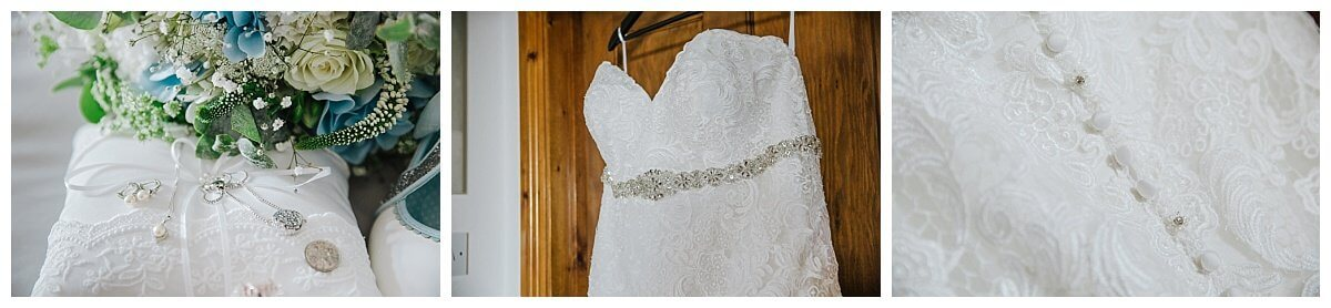 Shades of White Wedding dress