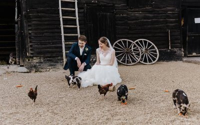 South Farm Wedding | Katy & Josh