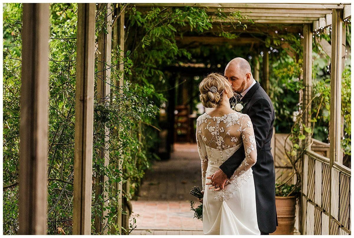 Bride and Groom at South Farm