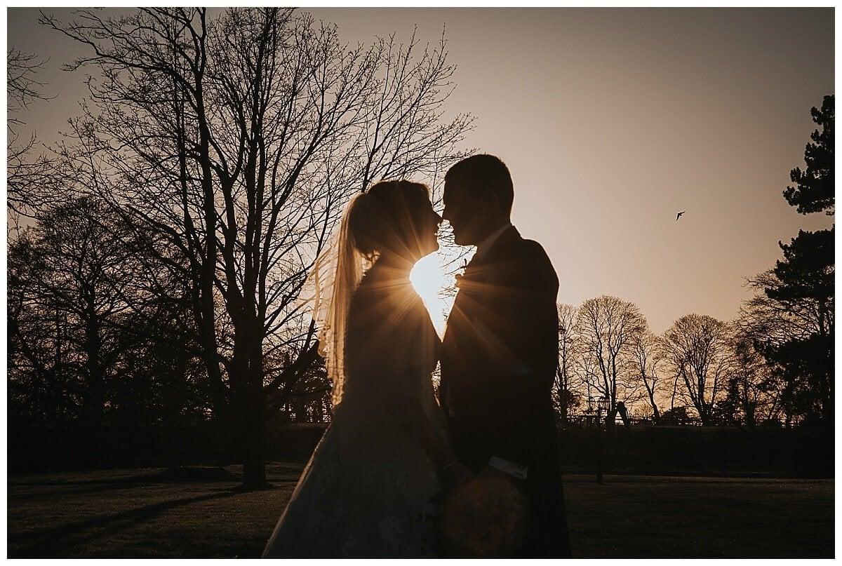 Sunset at Swynford Manor