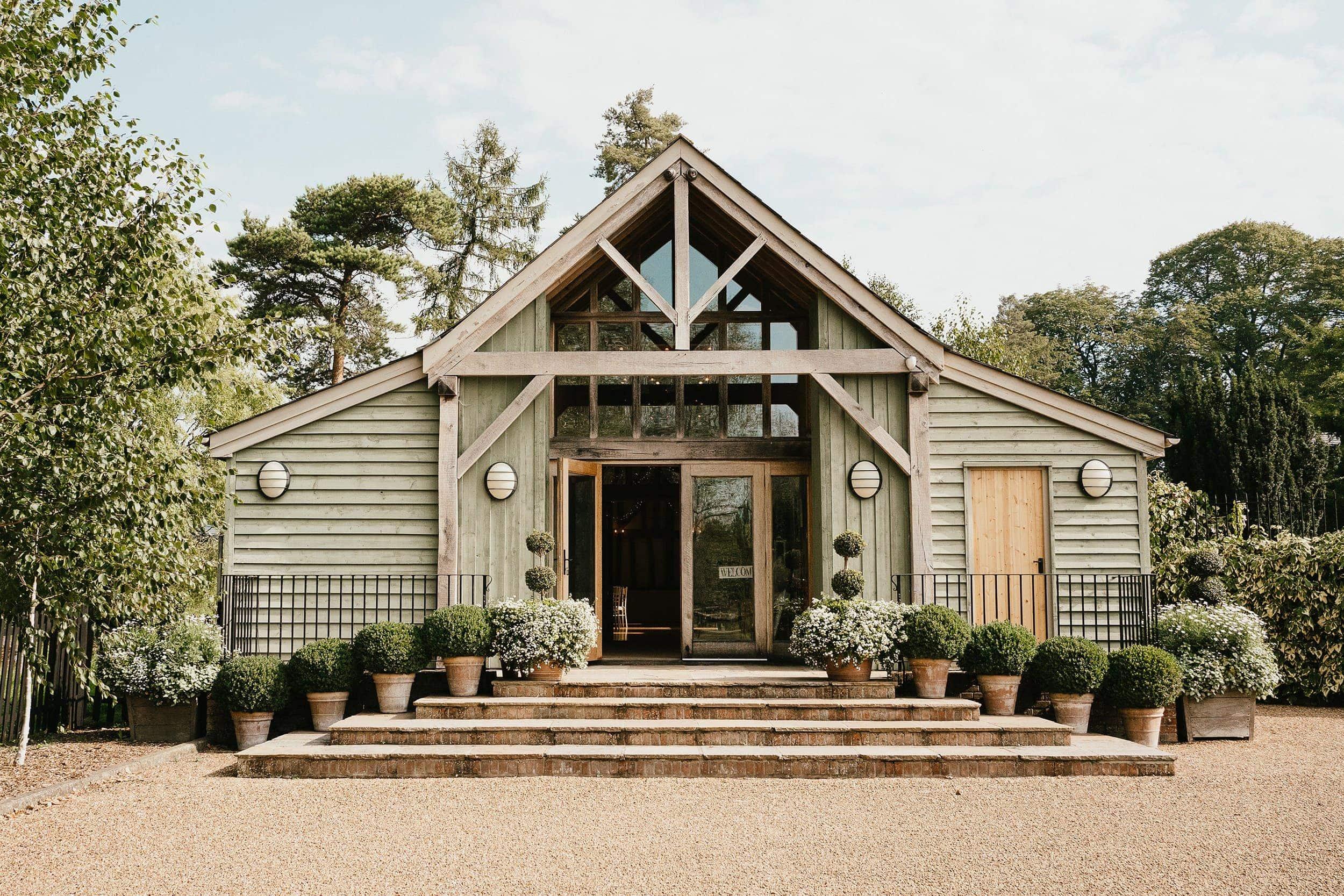 The Garden Barn Wedding Photographer