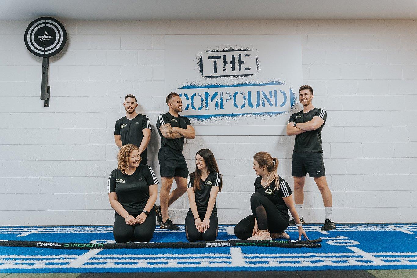 Team photo of gym instructors